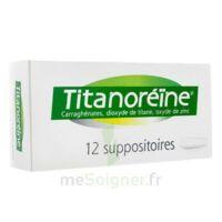 TITANOREINE Suppositoires B/12 à BIGANOS