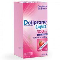 Dolipraneliquiz 300 mg Suspension buvable en sachet sans sucre édulcorée au maltitol liquide et au sorbitol B/12 à BIGANOS