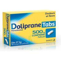 DOLIPRANETABS 500 mg Comprimés pelliculés Plq/16 à BIGANOS