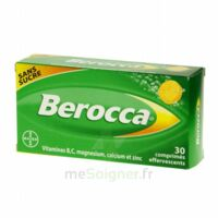 Berocca Comprimés effervescents sans sucre T/30 à BIGANOS