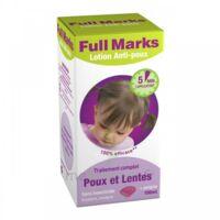 Full Marks Lotion antipoux et lentes 100ml+peigne à BIGANOS