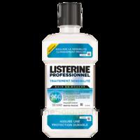 Listerine Professionnel Bain bouche traitement sensibilité 500ml à BIGANOS