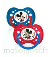 Dodie Disney sucettes silicone +18 mois Mickey Duo à BIGANOS