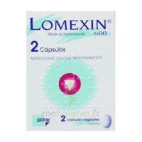 LOMEXIN 600 mg Caps molle vaginale Plq/2 à BIGANOS