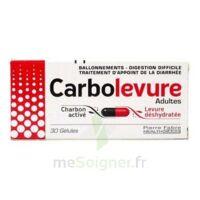 CARBOLEVURE Gélules adulte Plq/30 à BIGANOS