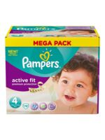 PAMPERS COUCHES ACTIVE FIT TAILLE 4 7-18 KG X 78 à BIGANOS