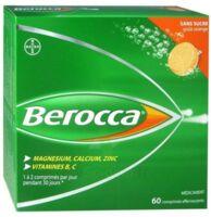 Berocca Comprimés effervescents sans sucre T/60 à BIGANOS