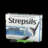 Strepsils lidocaïne Pastilles Plq/24 à BIGANOS