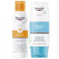 Eucerin Sun Sensitive Protect SPF50 Coffret brume à BIGANOS