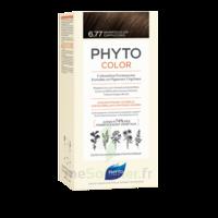Phytocolor Kit Coloration Permanente 6.77 Marron Clair Cappuccino à BIGANOS