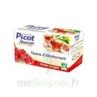 Picot Maman Tisane d'allaitement Fruits rouges 20 Sachets à BIGANOS
