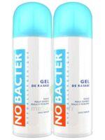 Nobacter Gel de rasage peau sensible 2*150ml à BIGANOS