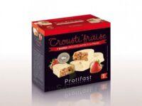 Protifast Barre crousti'fraise B/7 à BIGANOS