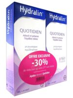 Hydralin Quotidien Gel lavant usage intime 2*200ml à BIGANOS