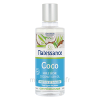 Natessance Huile Coco bio 100% pure 100ml à BIGANOS