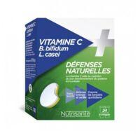 Nutrisanté Vitamine C+Probiotiques Comprimés à croquer 2*T/12 à BIGANOS