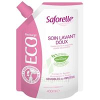 Saforelle Solution soin lavant doux Eco-recharge/400ml à BIGANOS
