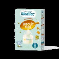 Modilac Céréales Farine Biscuit miel à partir de 6 mois B/300g à BIGANOS