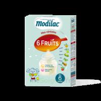 Modilac Céréales Farine 6 Fruits à partir de 8 mois B/300g à BIGANOS