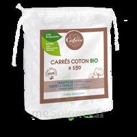 Gifrer Carré coton bio Sachet/150 à BIGANOS