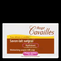 Rogé Cavaillès Savon lait surgras hydratant 100g à BIGANOS
