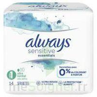 Always Serviettes Sensitive Essentials - Long Plus à BIGANOS