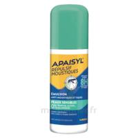 Apaisyl Répulsif Moustiques Emulsion peaux sensibles 90ml à BIGANOS
