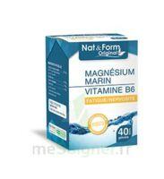 Nat&Form Expert Magnésium+Vitamine B6 Gélules B/40 à BIGANOS