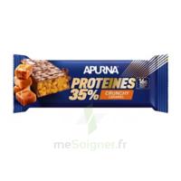 Apurna Barre hyperprotéinée crunchy caramel 45g à BIGANOS