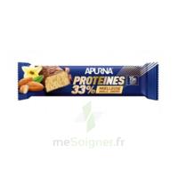 Apurna Barre hyperprotéinée moelleuse vanille amande 45g à BIGANOS
