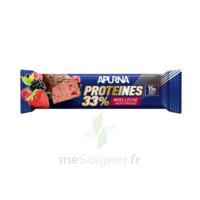 Apurna Barre hyperprotéinée moelleuse fruits rouges 45g à BIGANOS