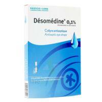 DESOMEDINE 0,1 % Collyre sol 10Fl/0,6ml à BIGANOS