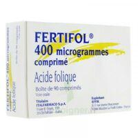 FERTIFOL 400 µg Cpr Plq/90 à BIGANOS