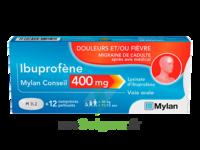 Ibuprofene Mylan Conseil 400mg, Comprimés Pelliculés à BIGANOS