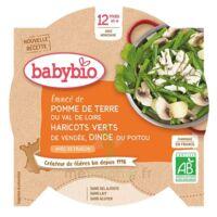Babybio Assiette Pomme De Terre Haricots Verts Dinde à BIGANOS