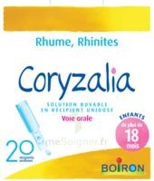 Boiron Coryzalia Solution Buvable Unidose B/20 à BIGANOS