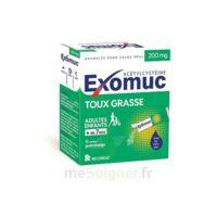 EXOMUC 200 mg, granulés pour usage oral en sachet 15 Sachets/2g à BIGANOS