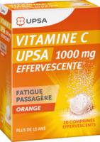 Vitamine C Upsa Effervescente 1000 Mg, Comprimé Effervescent à BIGANOS