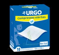 Urgo Compresse Stérile Non Tissée 10x10cm 10 Sachets/2 à BIGANOS