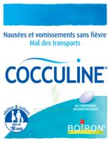 Boiron Cocculine Comprimés Orodispersibles B/40 à BIGANOS