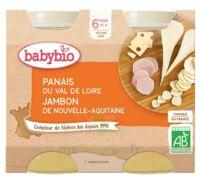 Babybio Pot Panais Jambon Gruyere à BIGANOS